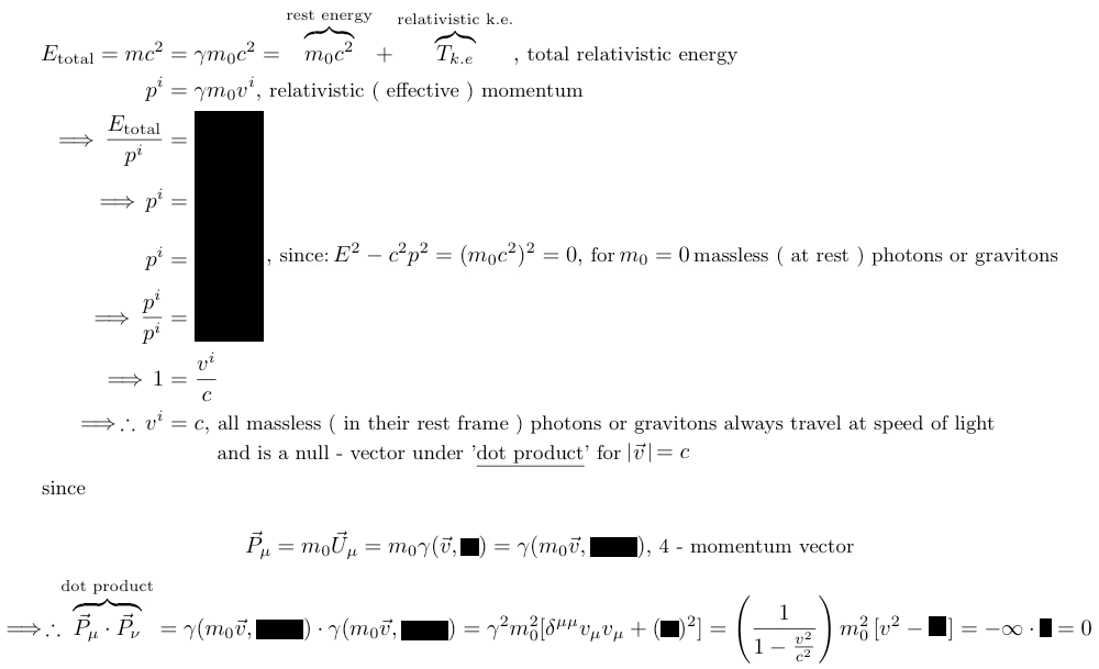 Relativity Physics And Science Calculator 4 Vector