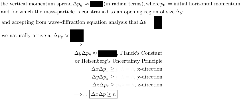 wave-diffraction equation analysis