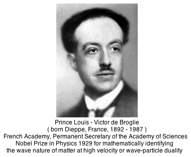 de broglie's quantum equations