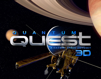 Quantum Quest: A Cassini Space Odyssey is an animated, 3D, CGI Large Format film from Digimax, Inc. and Jupiter 9 Productions. Coming to Giant Screen and 3D Theaters this fall, 2011.