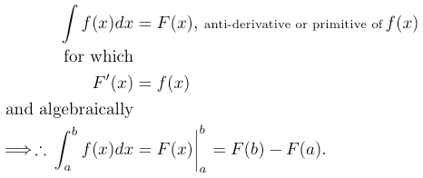 Fundamental Theorem of The Calculus