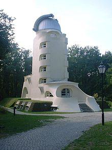 Erwin Freundlich was engaged in the construction of the Einstein tower, the Einsteinturm