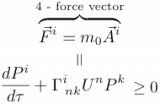 Deriving the 4 - Force Vector
