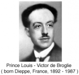 de Broglie Equations