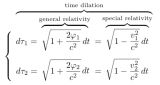 Gravitational Time Dilation and Red ( Spectral Line ) Shift
