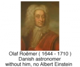 Olaf Roëmer & the Speed of Light