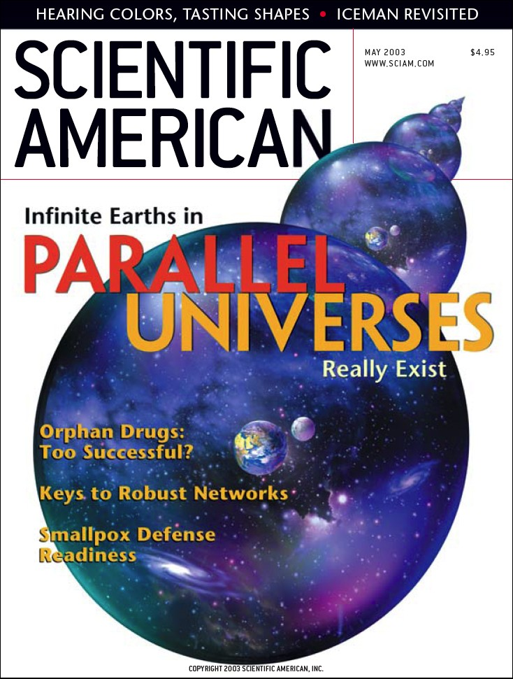 Parallel Universes by Max Tegmark, Scientific American
