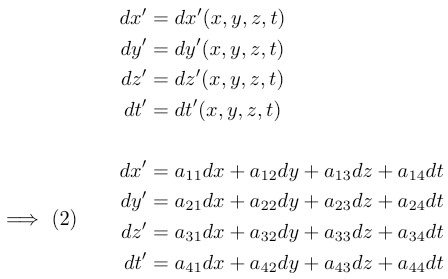 differential calculus equations