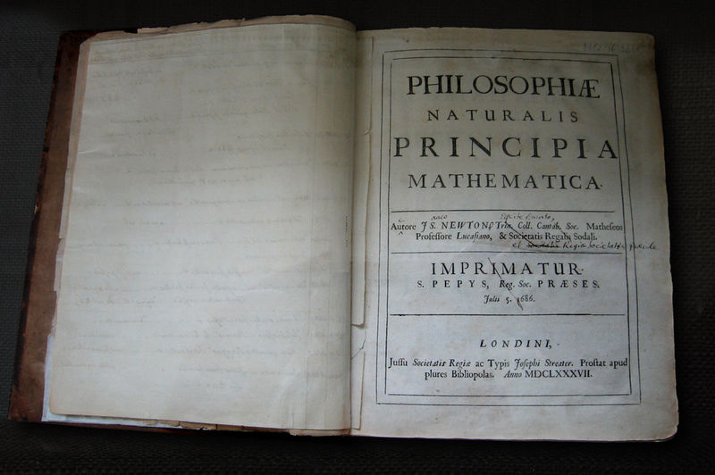 download and read Philosophiae Naturalis Principia Mathematica - 1687 edition in original Latin thanks to Google