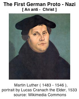 Martin Luther anti-semite