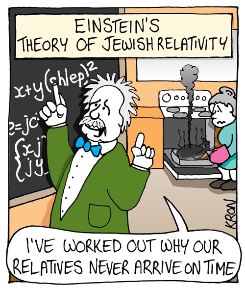 einstein's theory of jewish relativity